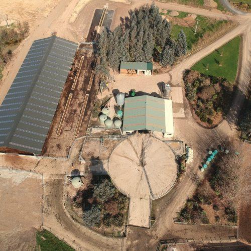 Composting barn 'good pilot' project